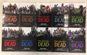 WALKING DEAD HARDCOVER COMICBOOK SET - 1-10 MINT London Ontario image 1
