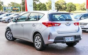 2014 Toyota Corolla ZRE182R Ascent S-CVT Silver 7 Speed Constant Variable Hatchback Wangara Wanneroo Area Preview
