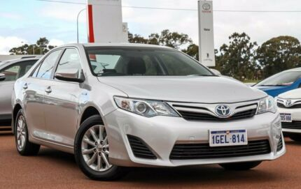 2012 Toyota Camry AVV50R Hybrid H Silver Pearl 1 Speed Constant Variable Sedan Hybrid