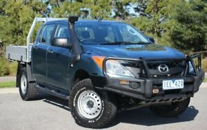 2015 Mazda BT-50 UP0YF1 XT Blue 6 Speed Sports Automatic Utility Officer Cardinia Area Preview