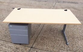 *** CHEAPER Maple 25mm Cantilever Desks ***