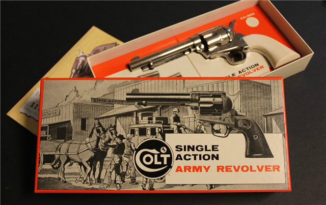 Colt Single Action Army SAA SA Stagecoach box 2nd Generation