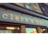 Chef de Partie required - Clerk's Bar