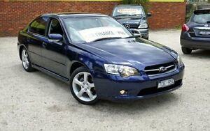 2005 Subaru Liberty B4 MY06 PREMIUM PACK Blue 4 Speed Automatic Sedan Upper Ferntree Gully Knox Area Preview