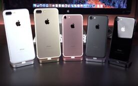 iPHONE 7 128GB, WITH SHOP RECEIPT & WARRANTY, GOOD CONDITION, UNLOCKED, ALL COLOURS