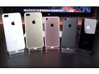 APPLE iPHONE 7 32GB & 128GB - WITH SHOP RECEIPT & WARRANTY - ALL COLOURS & NETWORKS AVAILABLE