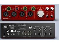 NEW*Focusrite Clarett 4 Pre Thunderbolt Audio Interface