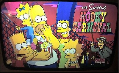 SIMPSONS KOOKY CARNIVAL Complete LED Lighting Kit SUPER BRIGHT PINBALL LED KIT