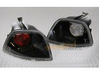 Ford Focus Lexus Rear Lights. Smoked Black. Projector Style. Mod, Upgrade.