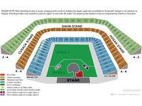 4 Seated U2 Croke Park Concert Tickets