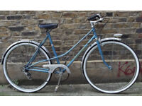 French ladies dutch bike STABLINSKI - size 18in, new TYRES, serviced, warranty - Welcome for ride :)