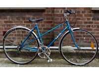 Vintage racing ladies bike RACER VANILLA hand built frame size 20in - 5 speed NEW TYRES , serviced