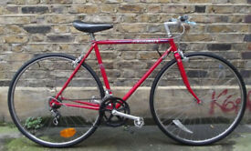 French vintage road bike PEUGEOT small frame size 20inch - 12 speed, serviced - WARRANTY - NEW TYRES
