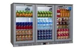 Back bar bottle cooler