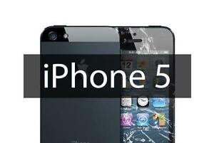 iPhone 5 complet LCD screen replacement  service / fix your cracked screen / battery replacement hight quality guarantee