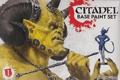Games Workshop Base Paint Set von Citadel Paint Farben Color Tabletop GW 60-22