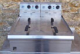 parry double fryer (electric)