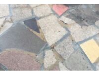 Stunning Granite Patio Slab Offcuts to Create Crazy Paving – FREE