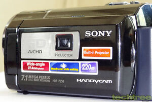 Sony HDR-PJ50V High-Definition Handycam Camcorder W/Projector