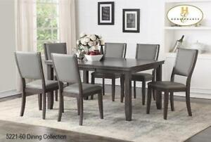 Dining Set in Grey on Sale (BD-2363)