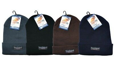 NWT, Therma Wear Fleece Lined Double Insulated Stocking Cap, $9.99+FREE SHIPPING - Insulated Lined Cap