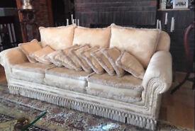 Duresta 4 seater sofa