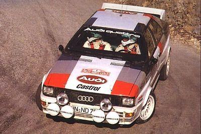 Audi Quattro Gruppe 4 Homologation - Rallye / Racing / Motorsport