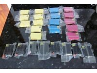 EPSON COMPATIBLE INKS - 25 NEW AND UNOPENED/UNUSED