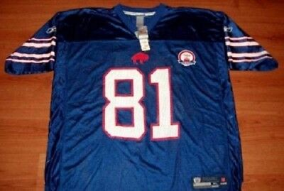Terrell Owens #81 Buffalo Bills 50th Anniversary Throwback Jersey XL Reebok NFL
