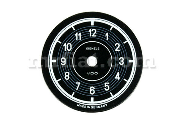 Mercedes 190 Sl Mechanical Clock Dial New