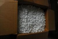 Large box of styrofoam peanuts, free to a good home!