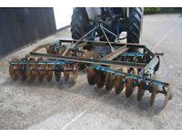 Ransoms Disc Harrows Cultivator - 9 feet wide (2.75 metres) – 24 discs
