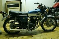 1970 Honda CB350 works great, unrestored, driver condition
