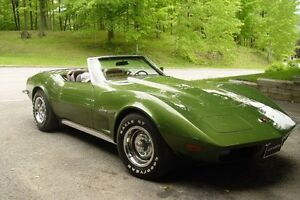 1973 Chevrolet Corvette décapotable