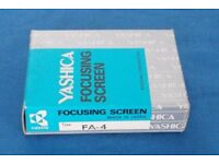 Yashica Focusing screen FA-4 for 200, 230, 270-AF. As new, NOS