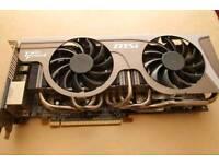 MSI 2GB GPU TWIN FROZR GRAPHICS CARD
