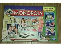 My Monopoly Hasbro Board Game