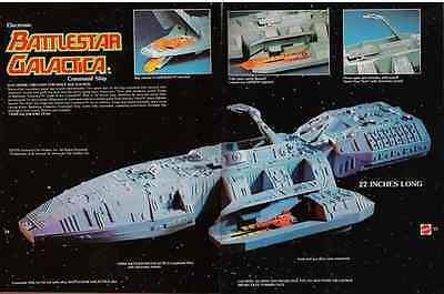 SPACE 1999 Mattel Eagle ( Print of Add 1978 BATTLESTAR GALACTICA ) Print Only**