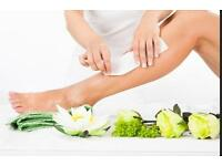 Mobile Waxing in London full body waxing £50, shellac mani & pedi £30, facial £25