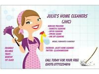 Julies home cleaners