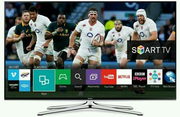 """Samsung 40"""" LED smart wifi tv built in HD freeview USB media player"""