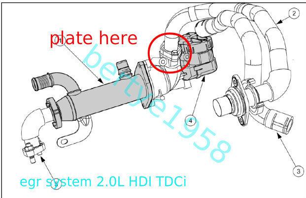 Image Result For Ford Transit Egr Valve Blanking