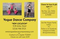 Dance Classes for Ages 2+