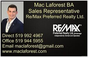 Buying or Selling, Mac Laforest Sales Representative 519992 4967