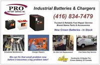 Industrial Fork Lift Battery and Charger Repair / Service