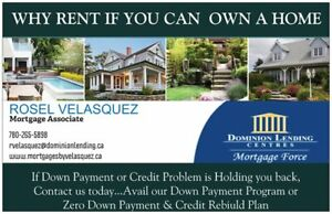 BUY A HOUSE! But Down Payment or Credit Problem? We Can Help!