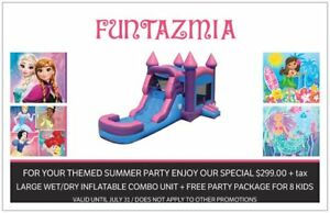 LARGE SIZE INFLATABLE WET/DRY COMBO UNIT ON SPECIAL BY JULY 31