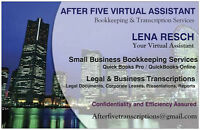 Small Business Bookkeeping and Transcription Services - Guy St.