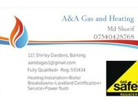 Fully qualified gas safe engineer in your local area