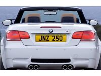 Cherished Number Plate - JNZ 250